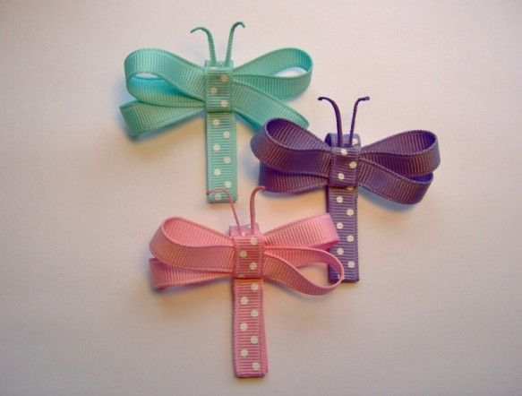 Dragonfly Crafty Clippie @ Jilly Beans Bowtique: $4.00 each / Choice of Colors.