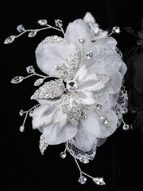 Lace Bridal Hair Flower