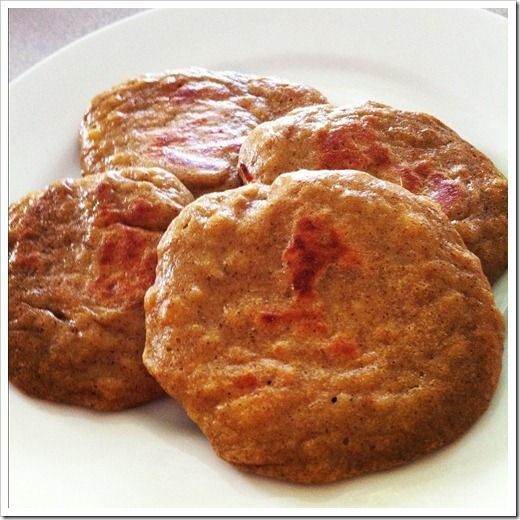 """grain-free / gluten-free / paleo / primal protein-filled sweet potato """"cookies"""" (no sugar). My 1-year-old daughter gobbled these up like it was her JOB."""