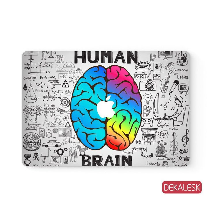 "Human Brain - MacBook Skin by DEKALESK. Available for MacBook Air 11""& 13"", MacBook Pro 13"", 15"" & 17"" and MacBook 12"". #macbook #skin #cover #sticker #decal #skins #covers #stickers #decals #protector #vinyl #air #pro #retina #apple"