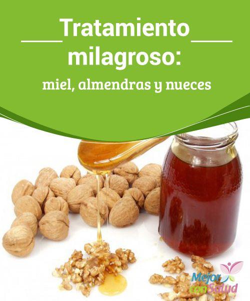 Tratamiento milagroso: miel, almendras y nueces Además de ayudarnos a reducir el colesterol y aportarnos energía, con este remedio conseguiremos un desayuno más saciante y, a la vez, saludable para con nuestra salud cardíaca