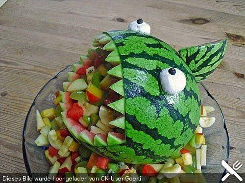 Melonen-Hai, ein sehr schönes Rezept aus der Kategorie Dessert. Bewertungen: 61. Durchschnitt: Ø 4,7.