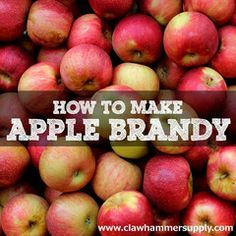 Apple Brandy is created by distilling fruit wine. After fruit has been fermented into a wine, the wine is distilled to produce a high proof spirit.