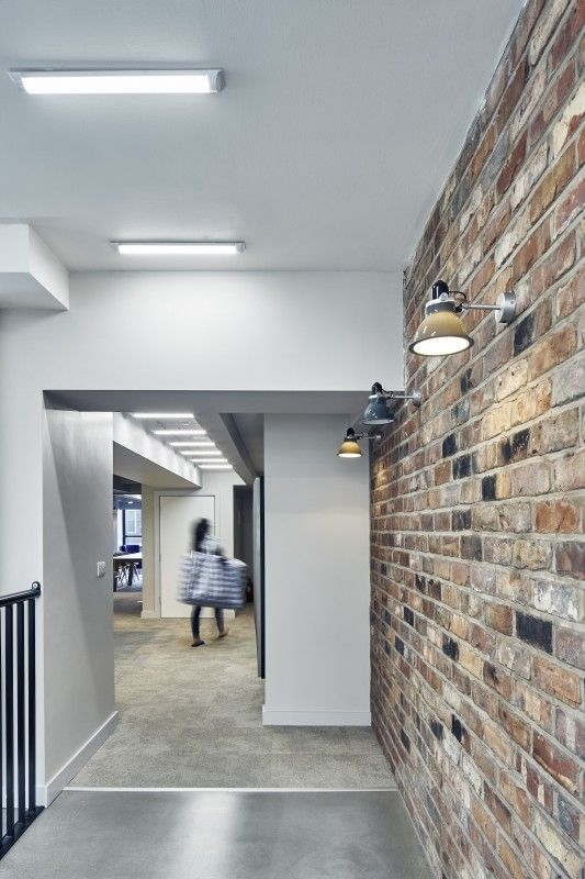 Our reclaimed barnstock brick tiles used at Wilmslow Park student accomodation in Manchester