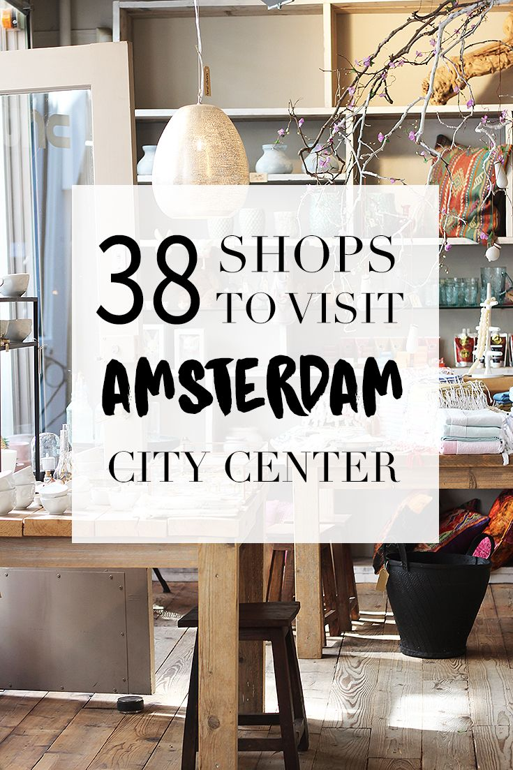 """Going to shop in the center of Amsterdam? Go to http://www.yourlittleblackbook.me to find out which 38 shops are a must visit. Have fun shopping! Planning a trip to Amsterdam? Check http://www.yourlittleblackbook.me & download """"The Amsterdam City Guide app"""" for Android & iOs with over 550 hotspots: https://itunes.apple.com/us/app/amsterdam-cityguide-yourlbb/id1066913884?mt=8 or https://play.google.com/store/apps/details?id=com.app.r3914JB"""