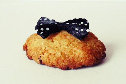 ♥ ugotujmy: ciastko z kokardką.