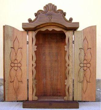 oratórios de madeira - Pesquisa do Google
