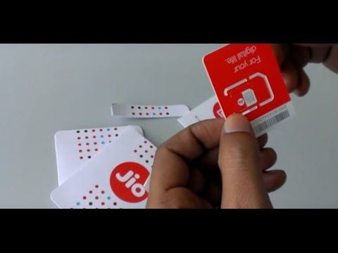 How To Get Free Reliance 4G JIO SIM  and how to Generate Code To Activat...