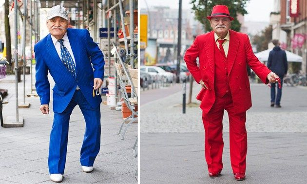 Do you think you will look as stylish as 86-yearl-old Ali? It's hard to imagine given just how much style the Berlin resident seems to have – those are some