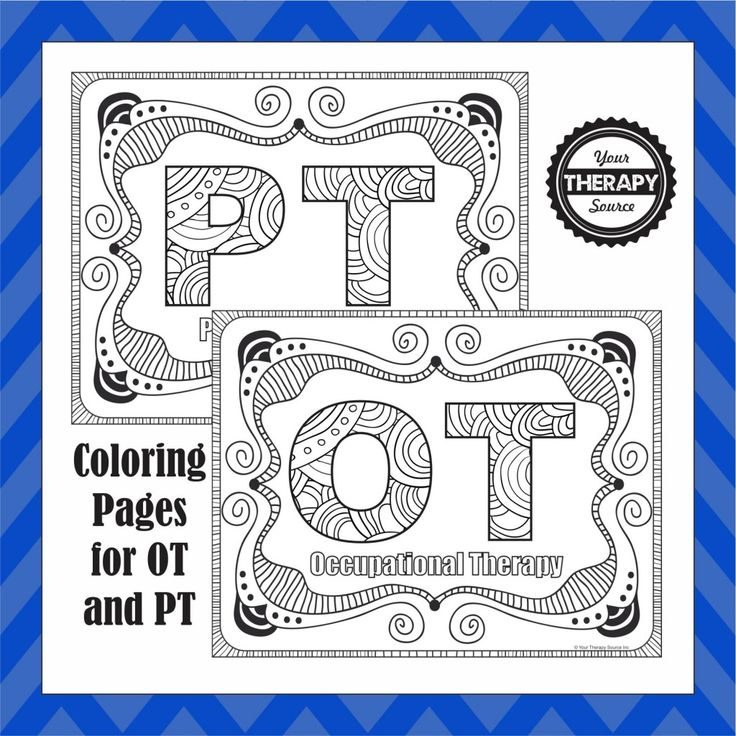 367 best for the love of ot! ❤ images on pinterest ... - Simple Therapeutic Coloring Pages