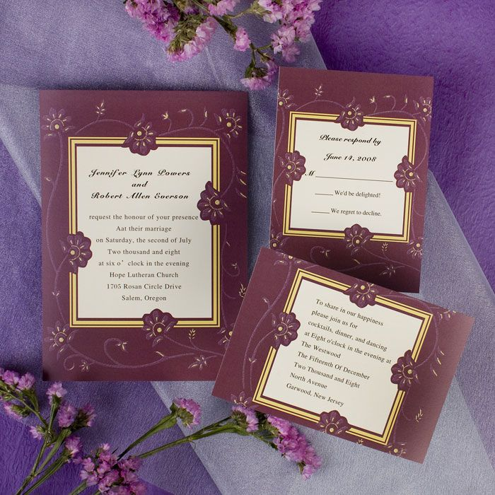 wedding invitations east london south africa%0A J Grace wedding Invitations       wedding invitation idi    swaying flora wedding  invitation idi