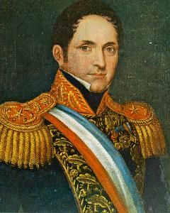 José Joaquín Prieto Vial, 1831 - 1841 Cuarto Presidente de Chile