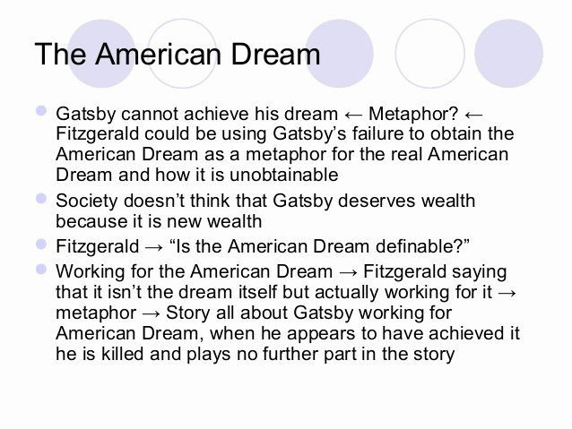 American Dream Essay Title Luxury Corruption Of The In Great Gatsby Examples