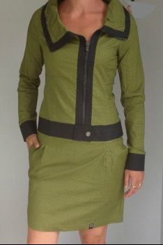 Groene jurk Zergatik
