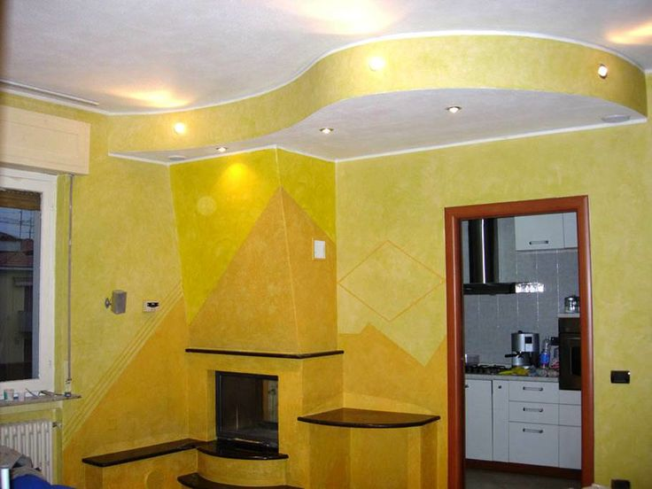"An apartment decorated with bright yellow ""Storia"" - Ferrara design  www.ferrara-design.it www.facebook.com/Designferrara?ref=hl"