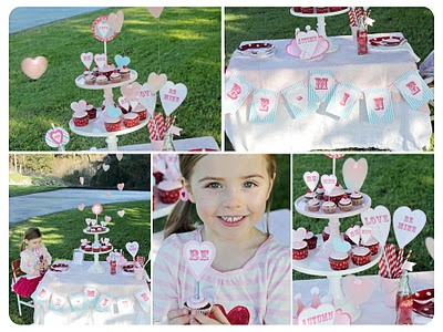 Beautiful party designs from Monkey Moo MooValentine Cards, Monkeys Moo, Beautiful Parties, Parties Design, Parties Time