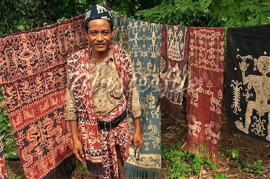 Ikat Blankets, Sumba Island, Indonesia