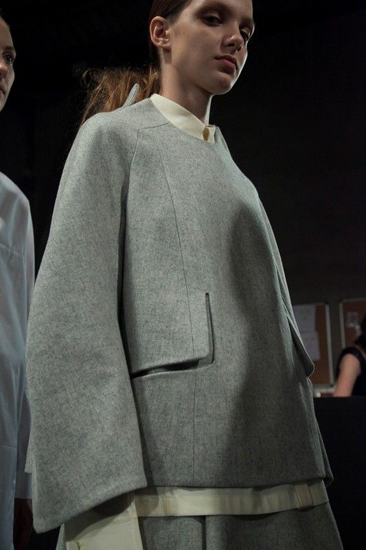 Kenta Matsushige's collection. very cool tailoring details.