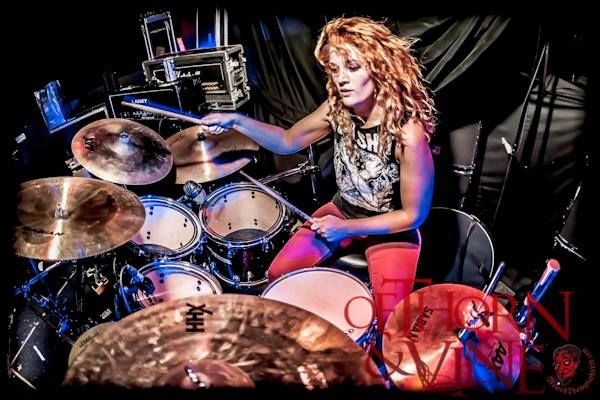 Samantha Landa, Dead Asylum drummer