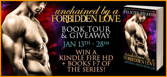 Calling All Bookaholics: Blog Tour - Unchained By A Forbidden Love (Eternal...