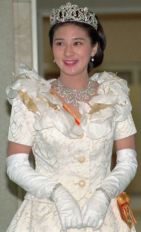 Crown Princess Masako of Japan's jewels. I didn't know they still had royalty in that country...