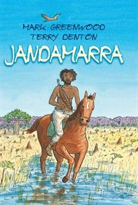 Jandamarra by Mark Greenwood and Terry Denton 2013.  Short List 2014, Eve Pownall Information Books.  Check it out here http://encore.sutherlandshire.nsw.gov.au/iii/encore/record/C__Rb1200383__Sjandamarra__Orightresult__X5?lang=eng&suite=cobalt