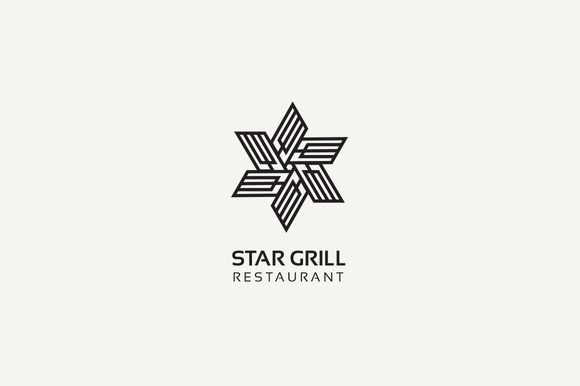 Star Grill Logo by @Graphicsauthor