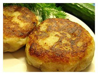 Котлеты из фасоли и картофеля