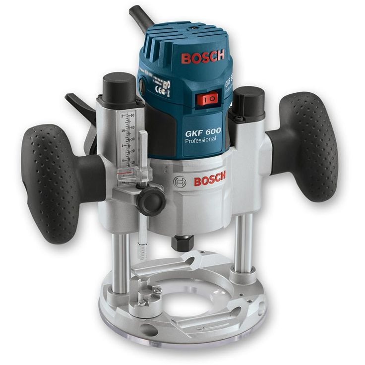 Bosch TE 600 Plunge Base for GKF 600 Router - Router Sub-Bases - Routing - Power Tool Accessories - Accessories   Axminster Tools & Machinery