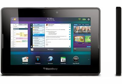 """BlackBerry 4G LTE PlayBook is the one on top. The screen isn't resistant to fingerprints and smudges so don't expect a flawlessly shiny display without using lint-free gloves while handling it. The display, on paper, is the same 7"""" 1024×600 (WSVGA) capacitive touchscreen as on the original PlayBook.  But there are differences.  Compared side-by-side with the original PlayBook, the 4G PlayBook's screen is noticeably yellow-er."""
