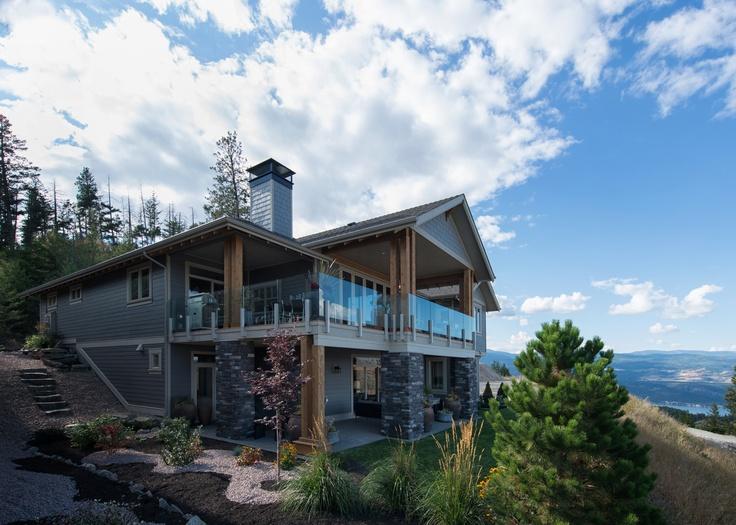 Ellison Home Views Okanagan Valley Back