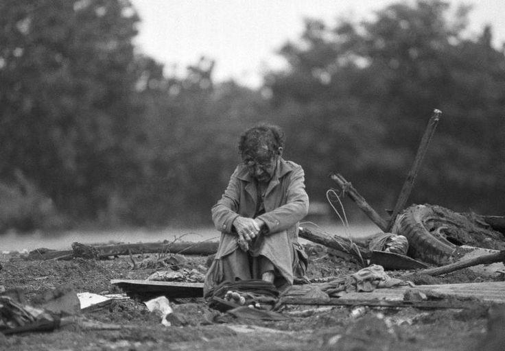 Contrastes de una tragedia Foto por El nuevo herald