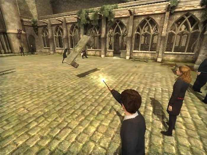 Harry Potter and The Order of the Phoenix Game Screenshot