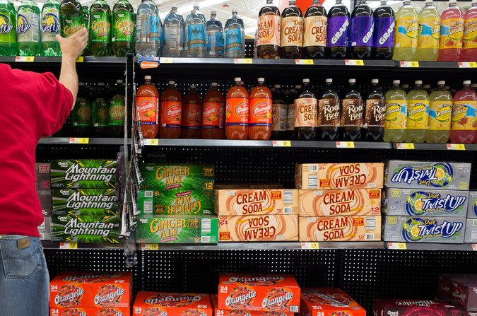 In the Shopping Cart of a Food Stamp Household: Lots of Soda - The New York Times (don't bring up that junk food is less expensive than healthy food, which especially matters to people on food stamps)