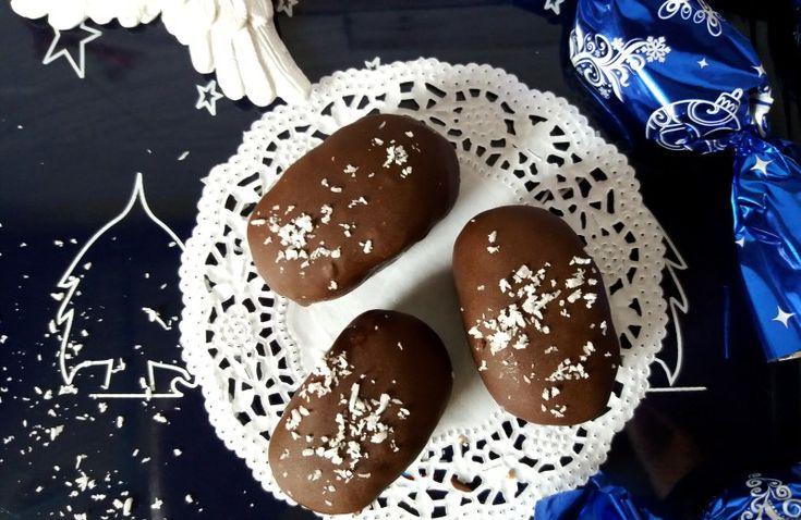 Cukormentes kókuszos szaloncukor recept