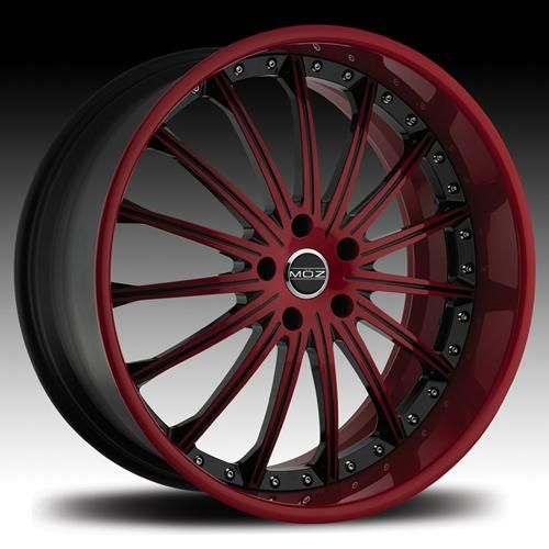 red black 20 rims | Wheels Rims Montecito 19 20 22 24 26 inch Red Black Detail Face Black ...