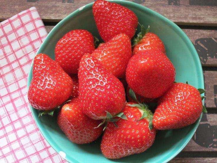 Erdbeercarberia - die besten Low Carb Rezepte mit Erdbeeren. Low Carb Rezepte von Happy Carb.