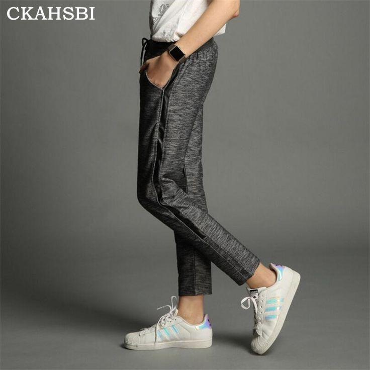 Ckahsbi loose sports pants workout running trousers ladies