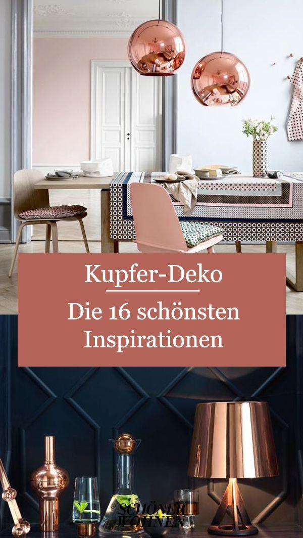 Kupferdeko Warmer Schimmer Fur Zu Hause Https Ift Tt 2qn266t In