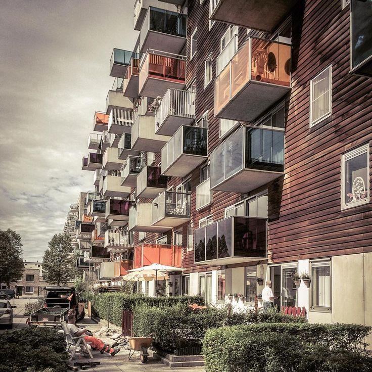 """#amsterdam #holland #modern #architecture #wozoco #mvrdv"""