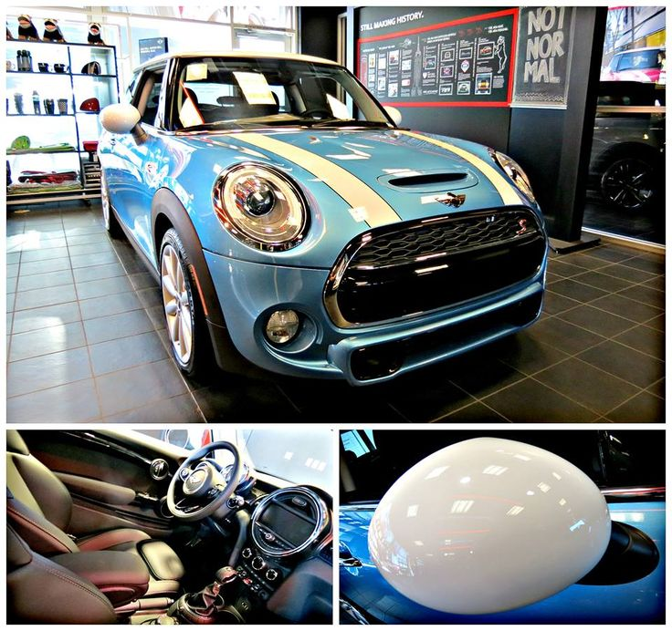 Let's make this weekend Electric Blue (wait for the rain to stop first)! Come and get a test-drive in with this Electric Blue metallic 2015 MINI Cooper S Hardtop!  www.mininorthscottsdale.com