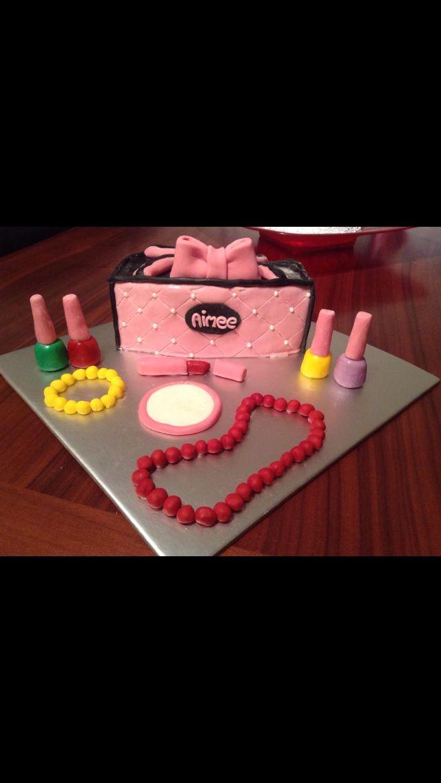 Birthday Cake For A 10 Year Old Girl I Made Birthdays