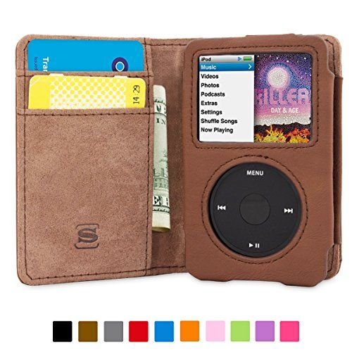 Snugg iPod Classic Case - Flip Cover andamp