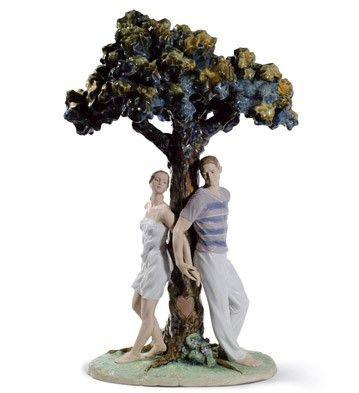 LLADRO PORCELAIN FOR VALENTINE'S DAY § LLADRO - THE TREE OF LOVE Issue Year: 2011 Sculptor: Ernest Massuet