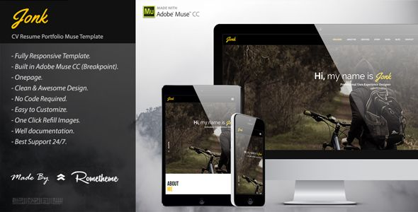 #JONK#-#CV#Resume#Personal#Muse#Template#-#Personal#Muse#Templates#