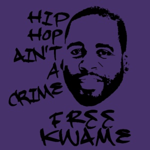 Hip-Hop Ain't a Crime Shirt: Mansion parties! $200,000 credit card bills! Murdered Strippers! Bling! Navigator in the garage! Sex on the side! Prison! Is it a Snoop Dogg song? Yes it is, actually, but it's also the last seven years in the life of the Kingpin of Detroit, Kwame Kilpatrick. #AATC