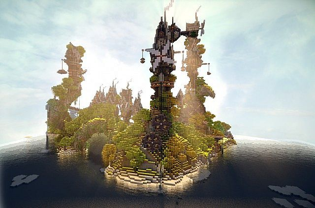Steamshire Island Minecraft Project