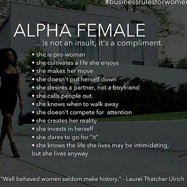 The ultimate alpha female 5