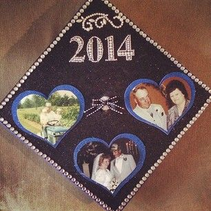 While others used theirs to make sure family members who passed on could be with them on their special day. | 31 Graduation Caps That Absolutely Nailed It