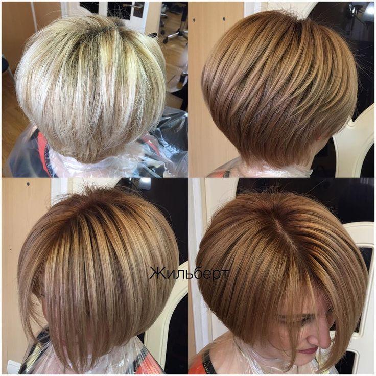 90 отметок «Нравится», 13 комментариев — ✂️Жильберт Парикмахер Москва (@zhilbert80) в Instagram: «Здесь для вас покажу, как из блондинки можно уйти в более правильные мягкие и натуральные цвета, с…»